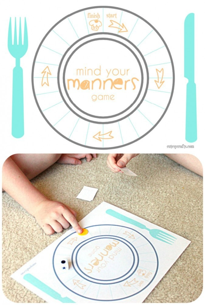 Tools for Surviving Restaurants and Teaching Table Manners  : table manners game 674x1000 from cutesycrafts.com size 674 x 1000 jpeg 122kB