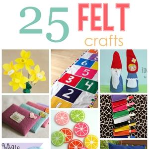25 Felt Crafts