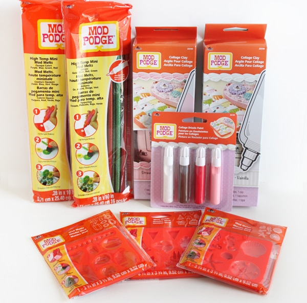Decoden Supplies from Mod Podge #plaidcrafts #modpodge #sponsored