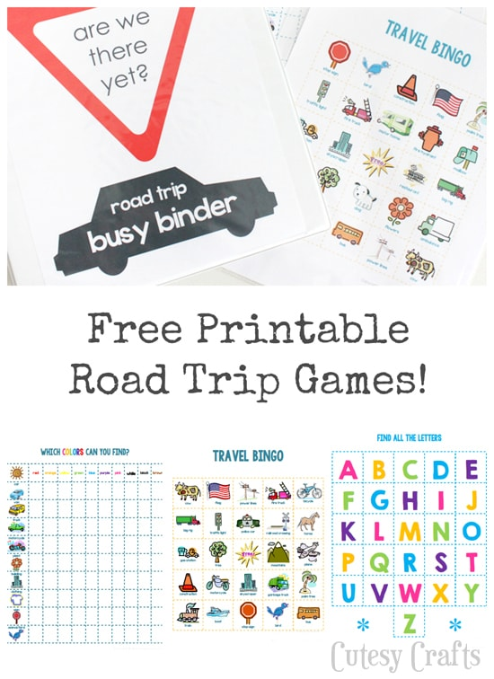 This is a graphic of Eloquent Printable Road Trip Games
