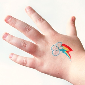 Temporary My Little Pony Tattoos