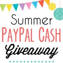 Summer $150 PayPal Cash Giveaway!