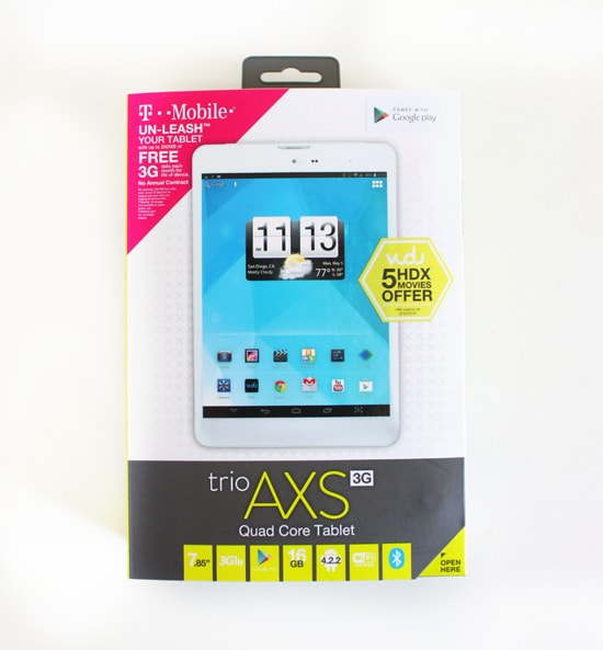 Stay organized with this awesome tablet that comes with T-Mobile FREE data!  #TabletTrio #shop #cbias