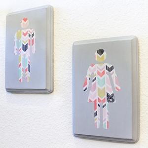 DIY Wall Art for the Bathroom