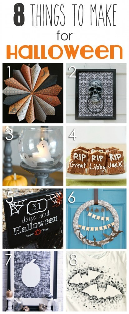 8 Things to Make for Halloween