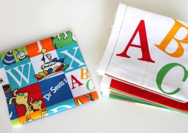 DIY Fabric Dr Seuss Book