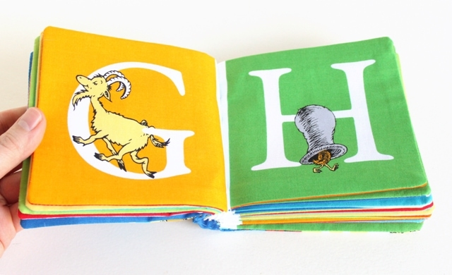 DIY Fabric Dr Seuss Book