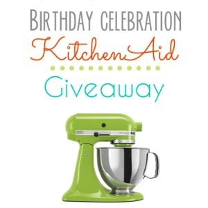 KitchenAid Mixer Giveaway!