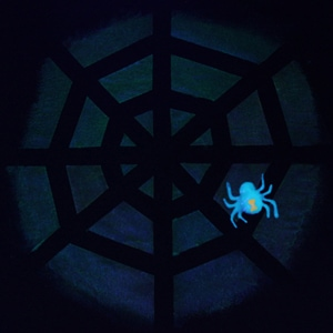 Glow in the Dark Spiderweb Shirt