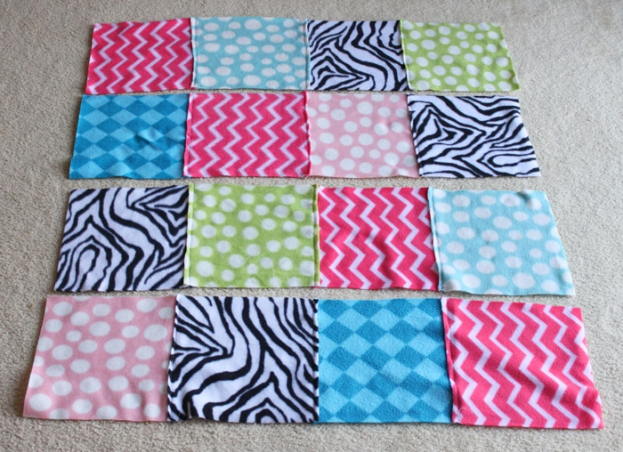 How To Make Fleece Blankets From Ss