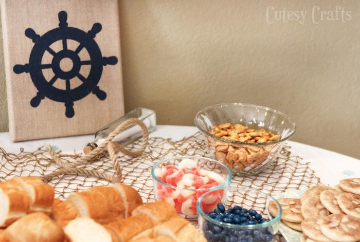 DIY Nautical Baby Shower