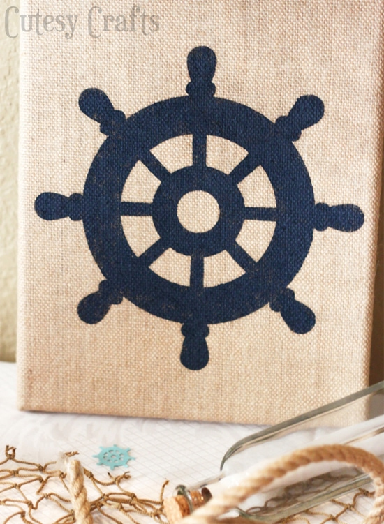 Diy nautical baby shower cutesy crafts for Baby shower nautical decoration