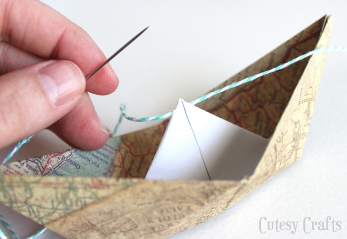 Paper Boat Garland