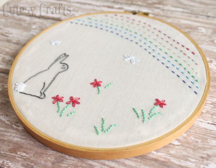 Free embroidery pattern!