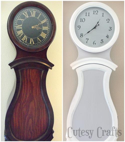 "Swedish ""Grandfather"" Clock Makeover"