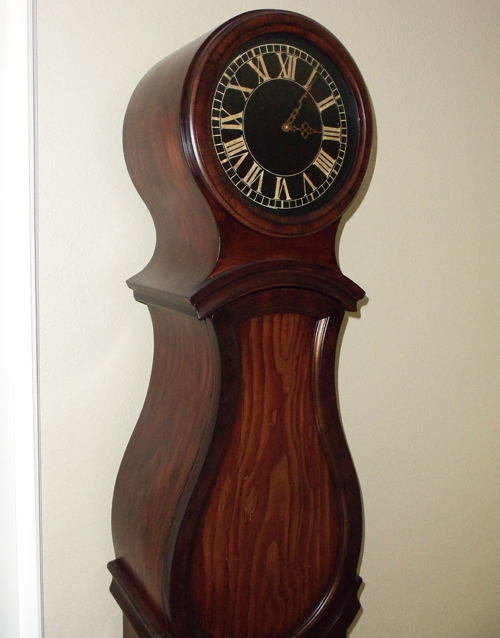 "Swedish ""Grandfather"" Clock Makeover"