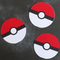 Pokemon Birthday Party Invitations (with free Silhouette cut file)