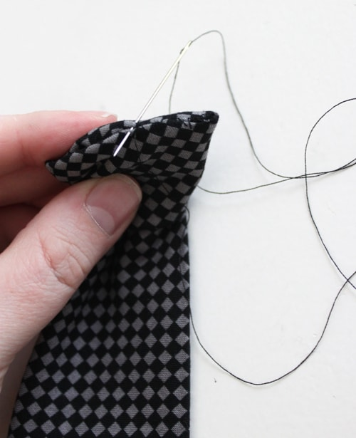 Necktie Onesie Tutorial with Baby Tie Pattern