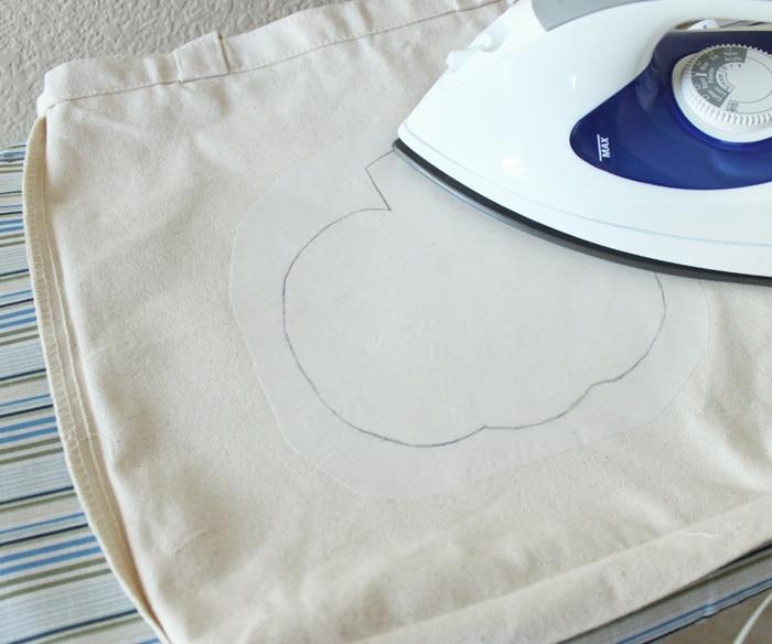 Reverse Applique DIY Trick-or-Treat Bags