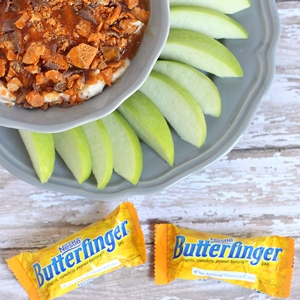 Butterfinger Apple Dip Recipe