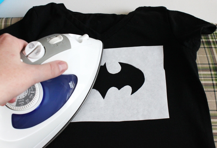 DIY Superhero Batgirl Shirt