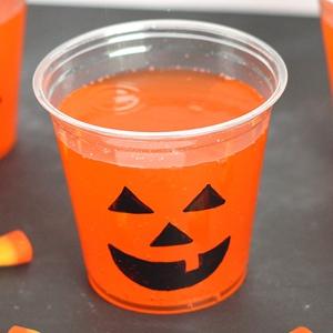 Halloween Party Idea – Jack-o-Lantern Cups
