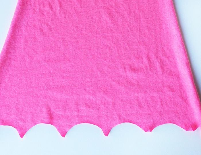 T-Shirt No-Sew Superhero Cape