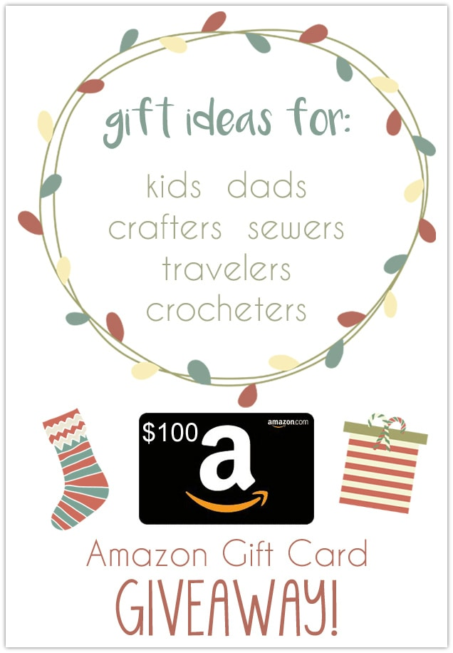 Gift guides for everyone on your list and a GIVEAWAY!