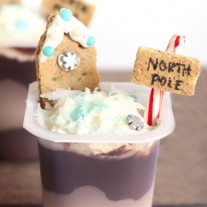 Christmas Treats – North Pole Pudding Cups