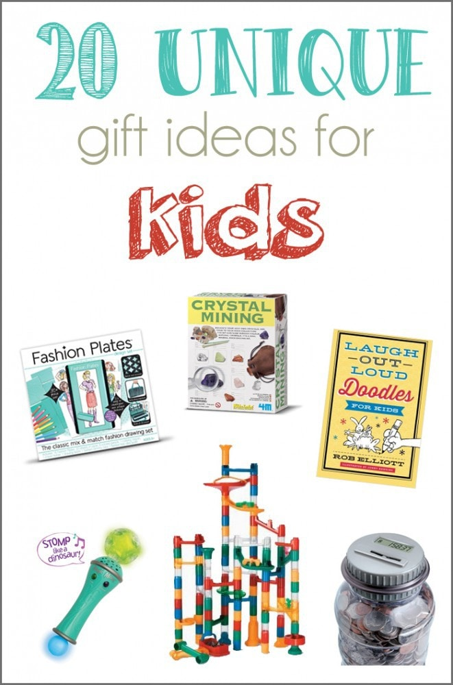 20 Unique Gift Ideas for Kids