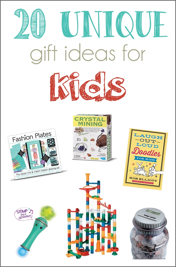 20 Unique Gift Ideas For Kids And A GIVEAWAY