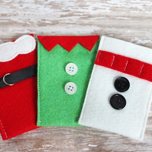 Felt Christmas Gift Card Holders