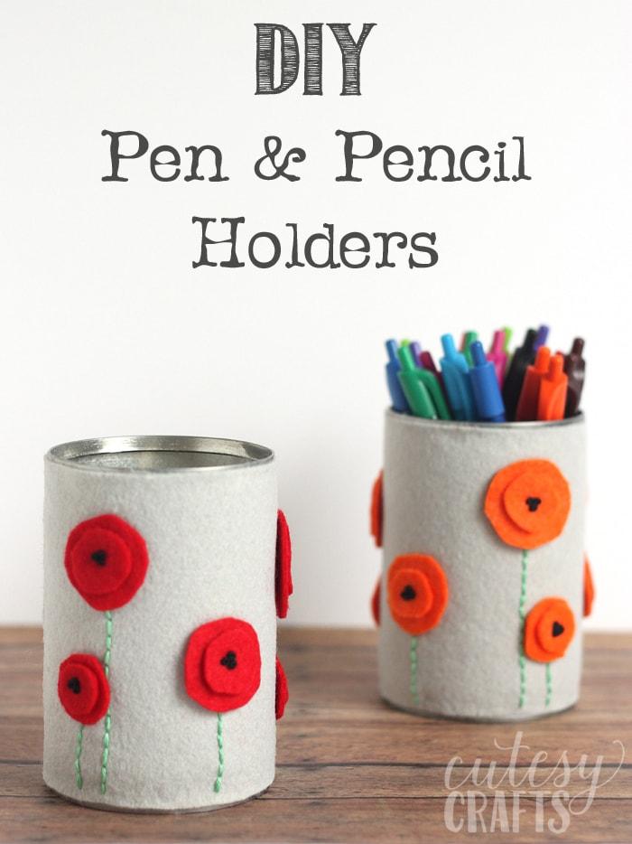 Pencil Holder Craft Paper
