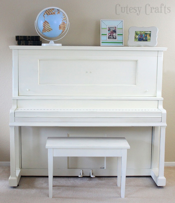 Piano Makeover Part 2: Should you paint a piano?