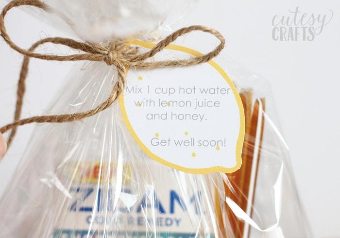 Get Well Gift Idea