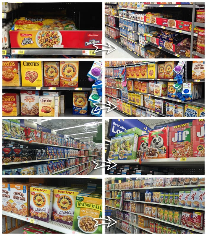 Post Cereal at Walmart
