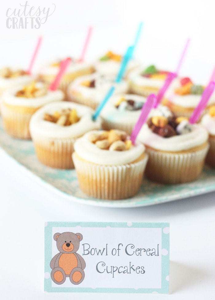 Free Pajama Party Food Label Printables