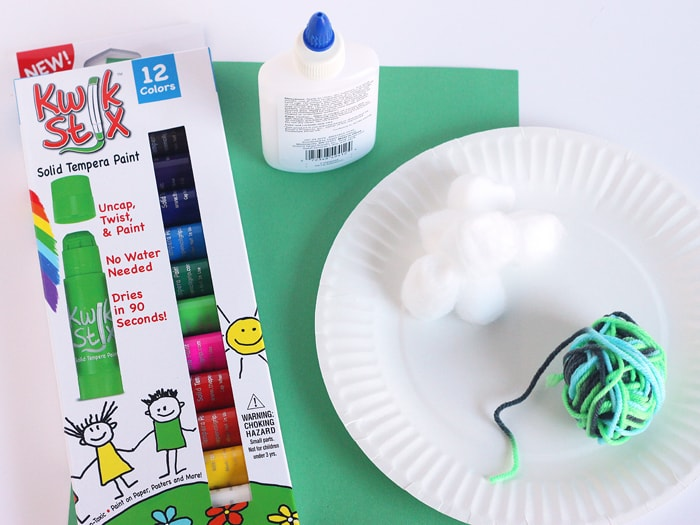 Paper Plate Rainbow St. Patrick's Day Craft