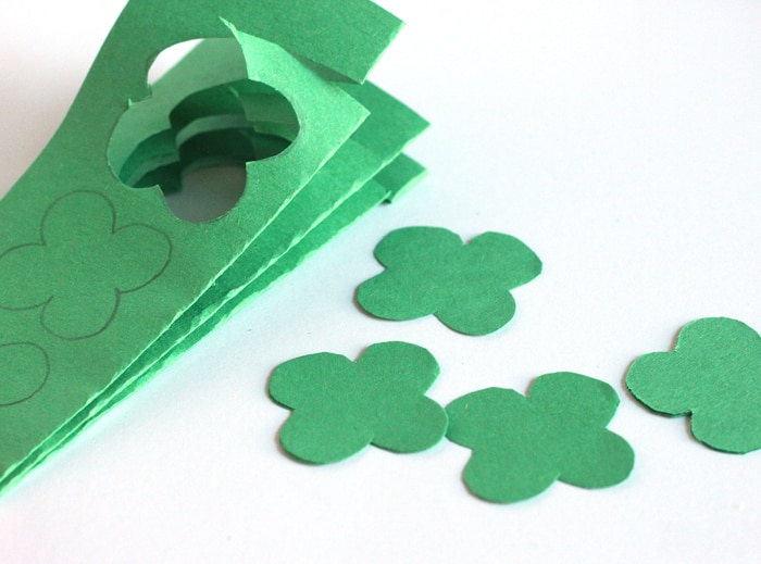 cut out clovers