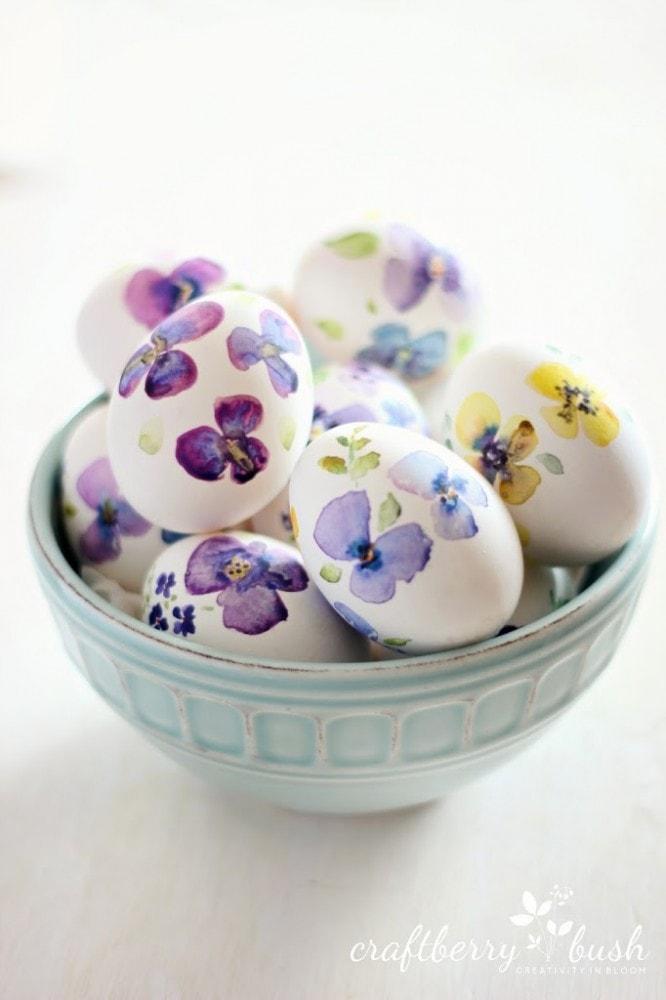 20 Easter Egg Decorating Ideas