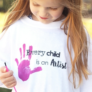 Art Party Smocks and a Giveaway!