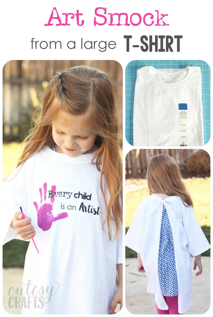 t shirt giveaway ideas art party smocks and a giveaway cutesy crafts 4956