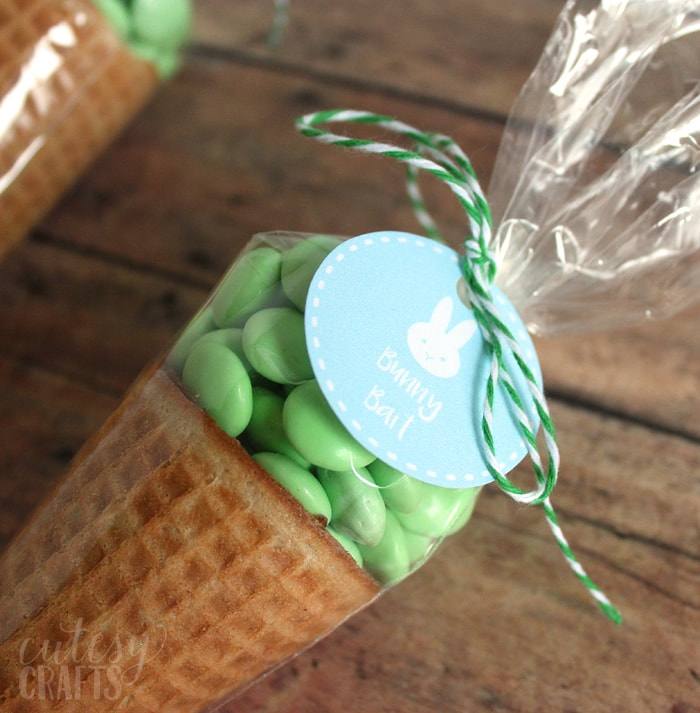 Bunny Bait Easter Treats with Printable Tags