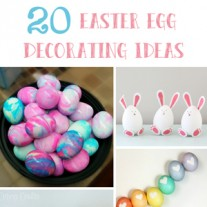 20 Easter Egg Decorating Ideas