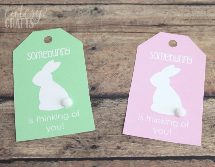 Easter Basket for Mom with Printable Easter Tags