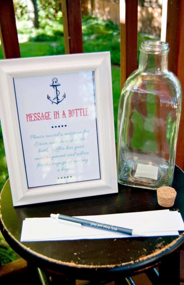 15 Nautical Baby Shower Ideas Cutesy Crafts