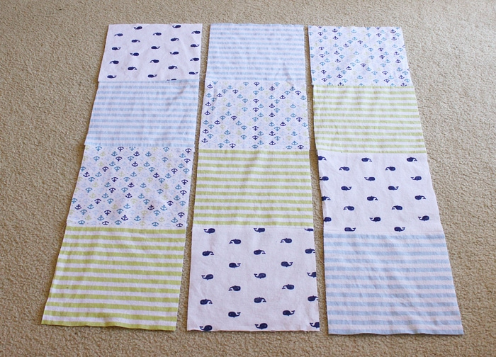 6f9e47dedd951 Easy Baby Quilt from Receiving Blankets - Cutesy Crafts