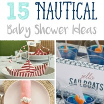 15 Nautical Baby Shower Ideas