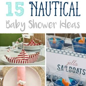 15 nautical baby shower ideas cutesy crafts for Nautical craft ideas