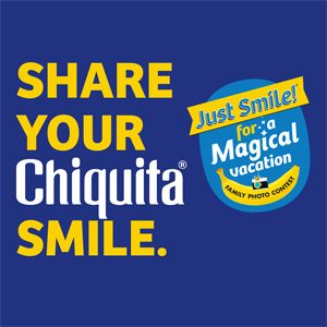Share Your Chiquita Smile and a Giveaway!